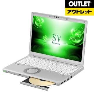 【アウトレット品】 CFSV7LFGQR ノートパソコン Let's note(レッツノート)SVシリーズ [12.1型 /intel Core i5 /SSD:256GB /メモリ:8GB /2018年2月モデル] 【外装不良品】