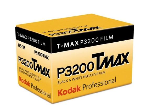 Kodak(コダック) KODAK PROFESSIONAL T-MAX P3200 135-36 パンクロ白黒フィルム