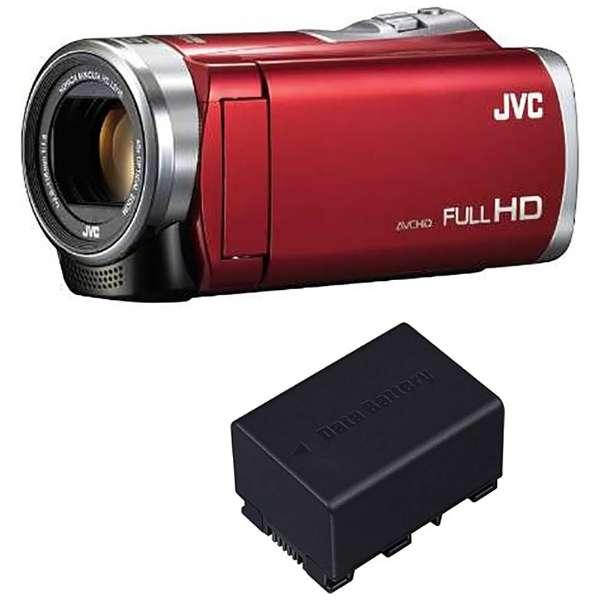 GZ-E235-R ビデオカメラ Everio(エブリオ) [フルハイビジョン対応]
