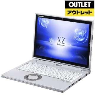 【アウトレット品】 レッツノート XZ 12.0型タッチ対応ノートPC[Office付き・Win10 Home・Core i5・SSD 128GB・メモリ 8GB]2018年春モデル CF-XZ6LDAPR シルバー 【外装不良品】