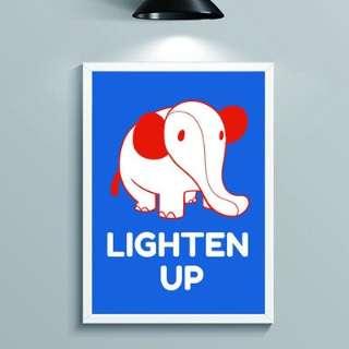 【店舗限定販売】 Wall Art Elephant