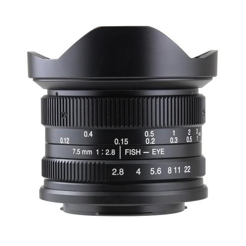 7artisans 7.5mm F2.8 Fish-eye 75MB [キヤノンM用]
