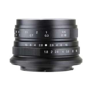 カメラレンズ 25mm F1.8 7Artisans ブラック [マイクロフォーサーズ /単焦点レンズ]
