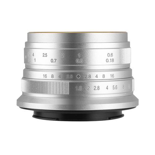7artisans 25mm F1.8 25FXS シルバー [フジフイルム用] 製品画像