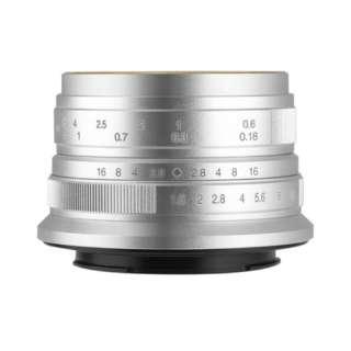 カメラレンズ 25mm F1.8 7Artisans シルバー [マイクロフォーサーズ /単焦点レンズ]