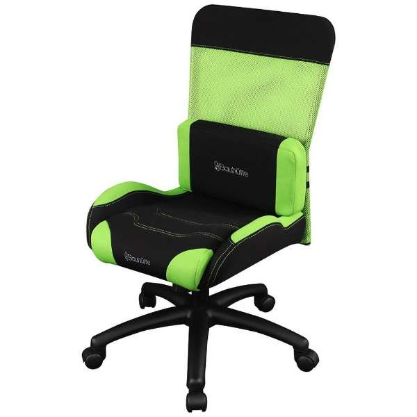 BC-RS-200-GN ゲーミングチェア GAMING CHAIR STUDENT MODEL(ゲーミングチェア スチューデントモデル) グリーン