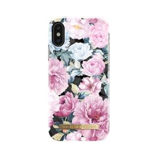 iPhone X用ケース ピオニーガーデン IDFCS18-I8-68
