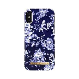 iPhone X用ケース  セイラーブルーブルーム IDFCS18-I8-69