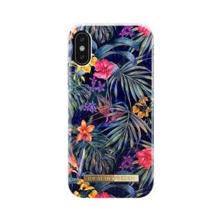 iPhone X用ケース  ミステリアスジャングル IDFCS18-I8-72
