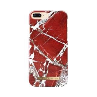 iPhone 8 Plus/7P/6SP/6P用ケース スカーレットレッドマーブル IDFCS18-I7P-71