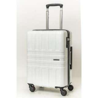 スーツケース 37L ホワイトヘアライン SK-0782-48-WHH [TSAロック搭載]