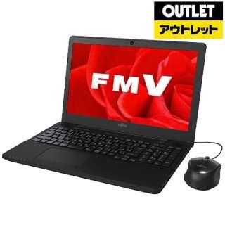 【アウトレット品】 FMVA42B3B ノートパソコン LIFEBOOK(ライフブック) [15.6型 /intel Celeron /HDD:1TB /メモリ:4GB /2017年11月モデル] 【外装不良品】