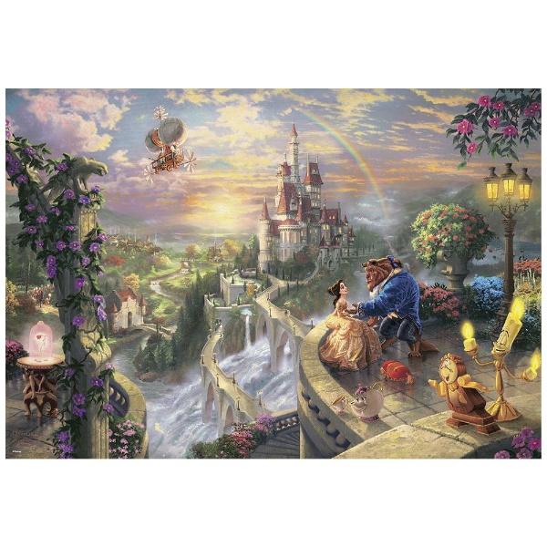 ディズニーシリーズ 1000ピース Beauty and the Beast Falling in Love(美女と野獣) D-1000-487