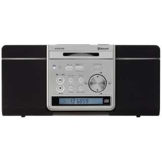 SDB-4341 CDラジオ ブラック [Bluetooth対応 /ワイドFM対応]