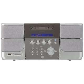 SDD-4340 CDラジオ シルバー [ワイドFM対応]
