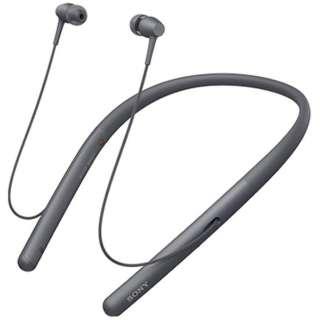 ≪海外仕様≫ブルートゥースイヤホン カナル型 グレイッシュブラック WI-H700BME [ハイレゾ対応 /リモコン・マイク対応 /ワイヤレス(ネックバンド) /Bluetooth]