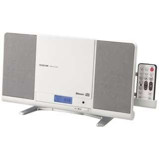 SDB-4339 CDラジオ ホワイト [Bluetooth対応 /ワイドFM対応]