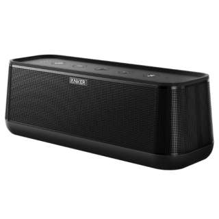 A3142013 ブルートゥース スピーカー SoundCore Pro+ black [Bluetooth対応 /防水]