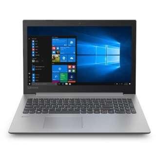 81D1008LJP ノートパソコン Ideapad (アイデアパッド )330 プラチナグレー [15.6型 /intel Celeron /HDD:1TB /メモリ:4GB /2018年6月モデル]