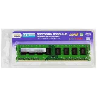 増設メモリ デスクトップ用 CFD Panram DDR3-1600 240pin DIMM 4GB D3U1600PS-4G [DIMM DDR3 /4GB /1枚]