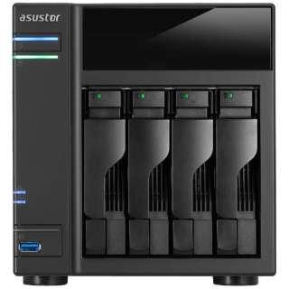 NASキット[HDD/SSD無 2.5/3.5インチ 4台] 61シリーズ AS6104T [据え置き型 /72TB]