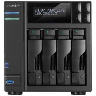 NASキット[HDD/SSD無 2.5/3.5インチ 4台] 62シリーズ AS6204T [据え置き型 /72TB]