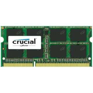 増設メモリ ノート用 Crucial スタンダードモデル DDR3L-1600 204pin SO-DIMM 4GB D3N1600CM-4G [SO-DIMM DDR3 /4GB /1枚]