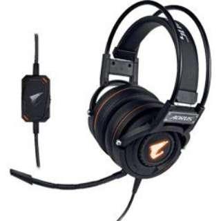 H5 ゲーミングヘッドセット AORUS [φ3.5mmミニプラグ+USB /両耳 /ヘッドバンドタイプ]