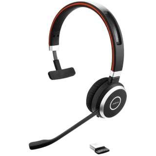 ワイヤレスヘッドセット Jabra Evolve 65 MS Mono 6593-823-309