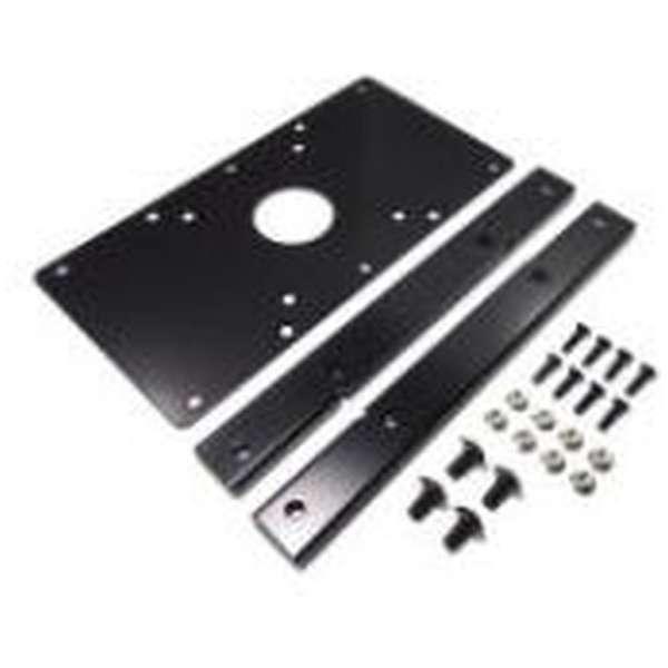 〔モニターアームパーツ〕 VESA規格変換プレート VESA規格75/100mm → VESA規格200mm×200mm NB-VS2020 ブラック