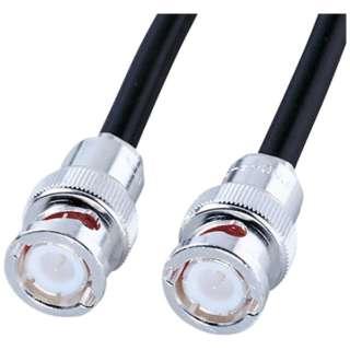 同軸ケーブル 3C-2V(5m・BNC-P3コネクタ オス - BNC-P3コネクタ オス) KB-73B1N