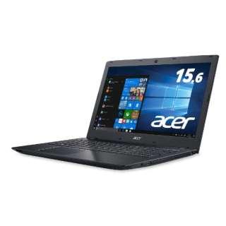 E5-576-N34D/K ノートパソコン Aspire E 15 オブシディアンブラック [15.6型 /intel Core i3 /HDD:500GB /メモリ:4GB]