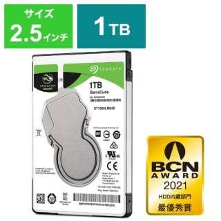ST1000LM048 内蔵HDD BarraCuda [2.5インチ /1TB] 【バルク品】