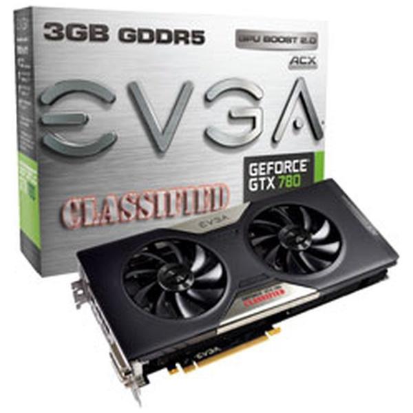 GeForce GTX 780 Dual Classified w/ ACX Cooler 03G-P4-3788-KR [PCIExp 3GB]