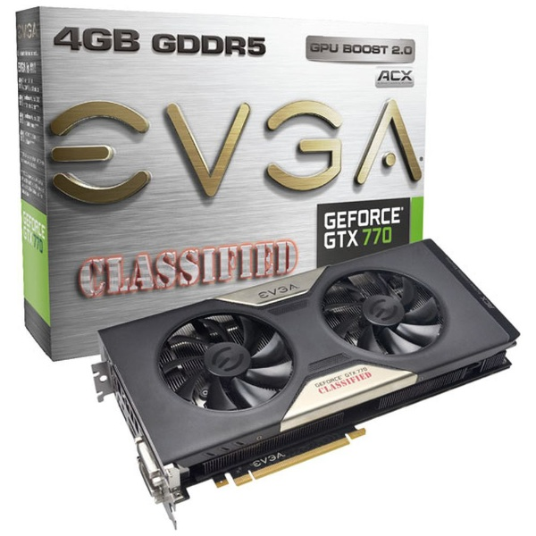 GeForce GTX 770 4GB Dual Classified w/ ACX Cooler 04G-P4-3778-KR [PCIExp 4GB]