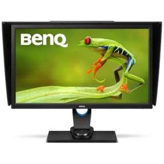 27型ワイド 液晶モニター Adobe RGB 99%カバー写真家向けWQHD/QHDカラーマネジメント SW2700PT ブラック [ワイド /WQHD(2560×1440)]