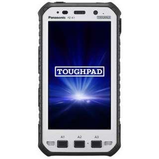 FZ-X1AKAAACJ Androidタブレット TOUGHPAD ブラック [5型 /ストレージ:32GB /SIMフリーモデル]