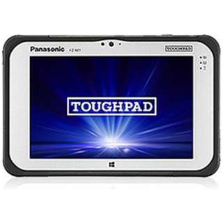 TOUGHPAD FZ-M1 Windows 10 Proタブレット[7型・Atom・ストレージ 64GB・メモリ 4GB]標準モデル FZ-M1D050XVJ ブラック [intel Atom]