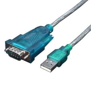 [USB-A ⇔ RS232]変換ケーブル USB-RS232 ブルー