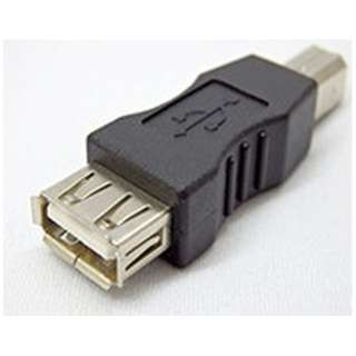 [USB-B オス→メス USB-A]変換コネクタ SUAF-UBMB
