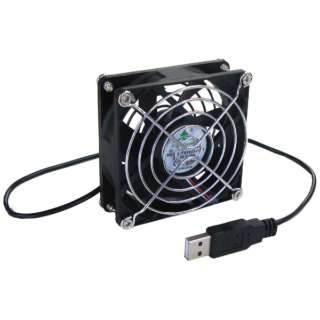 〔USB扇風機〕 BIGFAN80U for Men ブラック