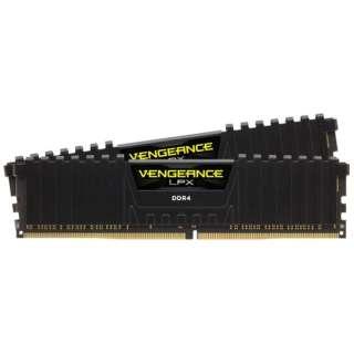 増設メモリ Vengeance LPXシリーズ 16GB 8GB×2枚組 CMK16GX4M2B3000C15 [DIMM DDR4 /8GB /2枚]