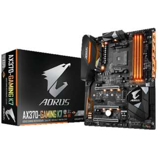 ゲーミングマザーボード GA-AX370-Gaming K7 (rev. 1.0) [ATX]