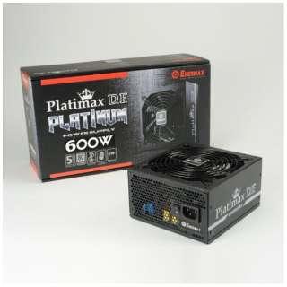 600W PC電源 Platimax D.F. EPF600AWT [ATX /Platinum]