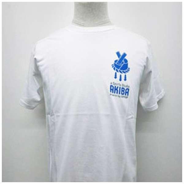 eSports Studio AKIBAオリジナル Tシャツ L 白