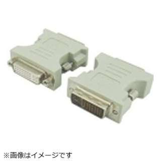 [DVI-D オス→メス DVI-I]変換プラグ DVI29-25