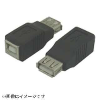 [USB microB メス-メス USB-A]USB中継 USBAB-USBBB