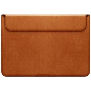 MacBook 12インチ スタンドケース「D5 Artificial Leather」 SLG Design SD6409M12 タンブラウン