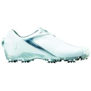 27.5cm/靴幅:3E メンズ ゴルフシューズ FJ SPORT Boa(White×Silver) #53142
