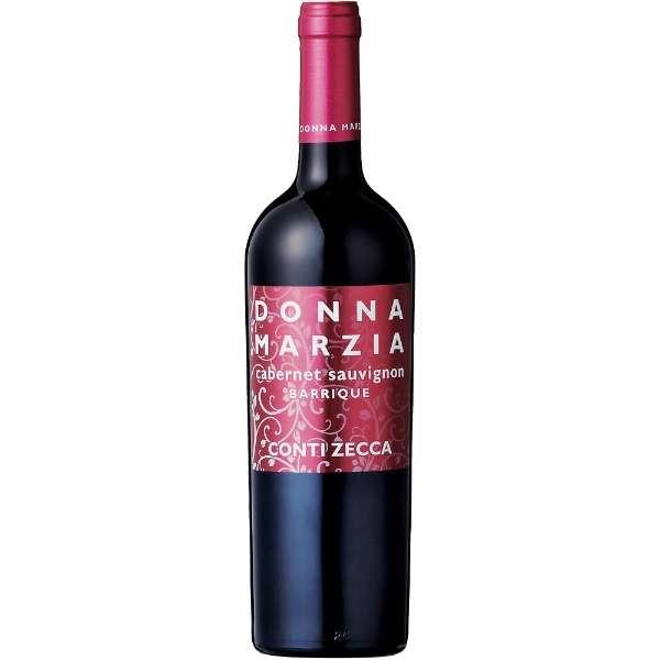 アジィエンダ・アグリコーラ・コンティ・ゼッカ ドンナ・マルツィア カベルネ・ソーヴィニヨン オーク樽熟成 750ml【赤ワイン】